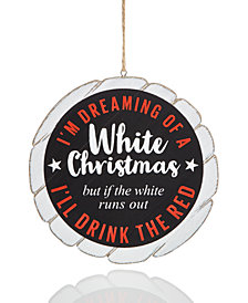 Holiday Lane Sentiment Ornament, Created for Macy's