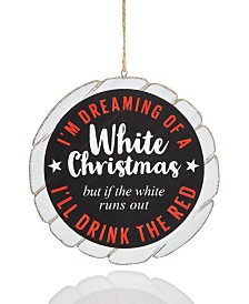 Holiday Lane Spirits Wine Ornament Created For Macy's