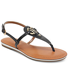 Tommy Hilfiger Genei Slingback Thong Sandals