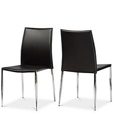 Santidad Dining Chair (Set of 2), Quick Ship
