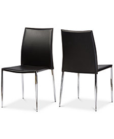 Santidad Dining Chair (Set of 2), Quick Ship