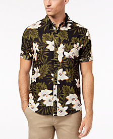 Another Influence Men's Floral Shirt