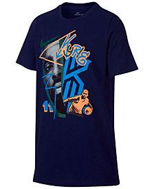 Nike Big Boys Kyrie Irving-Print T-Shirt