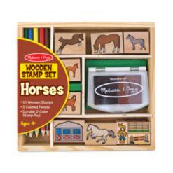Melissa and Doug Kids Toys, Kids Horses Stamp Set Toys