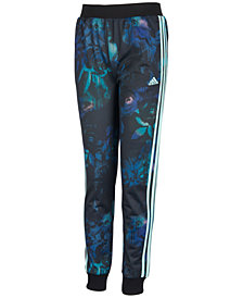 adidas Toddler Girls Printed Tricot Jogger Pants