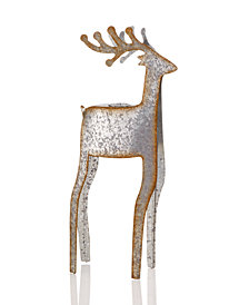 Martha Stewart Collection Small Deer Taper Holder, Created for Macy's