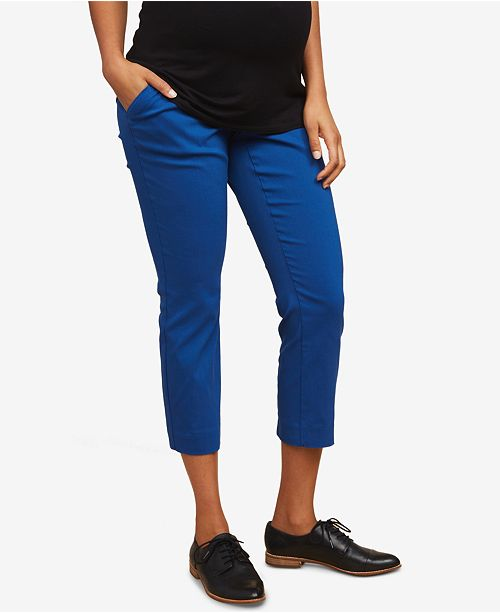 Motherhood Maternity Cropped Pants