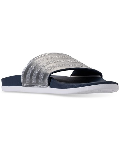5e958ad68183 adidas Women s Adilette Slide Sandals from Finish Line   Reviews ...