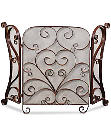 Uttermost Daymeion Metal Fireplace Screen
