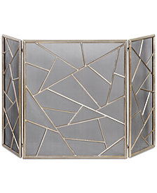 Uttermost Armino Modern Fireplace Screen