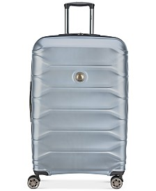 "CLOSEOUT! Delsey Meteor 28"" Silver Spinner Suitcase, Created for Macy's"
