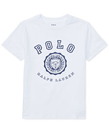 Polo Ralph Lauren Toddler Boys Cotton Jersey Graphic T-Shirt