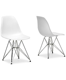 Sehrish Side Chair (Set of 2), Quick Ship