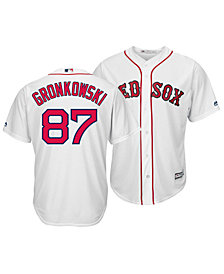 Majestic Men's Rob Gronkowski Boston Red Sox NFLPA Replica Cool Base Jersey