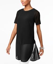 Alfani Illusion Tunic, Created for Macy's