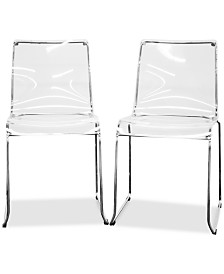 Stormie Dining Chair (Set of 2), Quick Ship