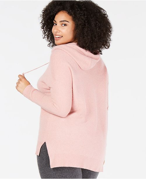 Club for Bella Rose Plus Size Created Thermal Cashmere Macy's Hoodie Charter 4gfZ1dwqf