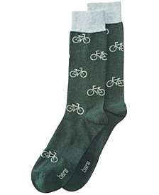 Bar III Men's Bicycles Socks, Created for Macy's