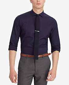 Polo Ralph Lauren Men's Classic Fit Mini Dot Cotton Shirt