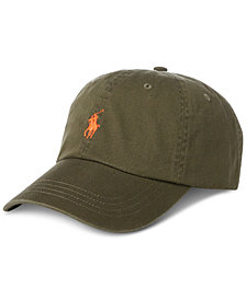 Polo Ralph Lauren Men's Big & Tall Chino Cotton Baseball Cap