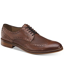 Men's Conard Embossed Wingtip Bluchers