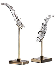 Uttermost Wings Sculpture, Set of 2