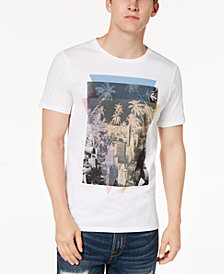 GUESS Men's Cityscape Graphic T-Shirt