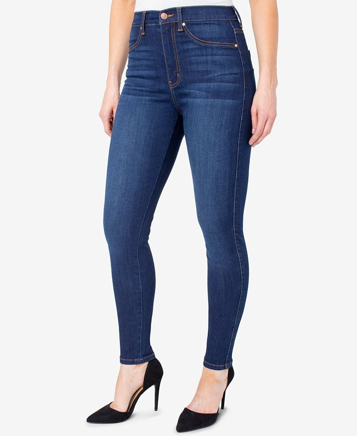 Celebrity Pink - Juniors' Curvy High-Rise Skinny Jeans