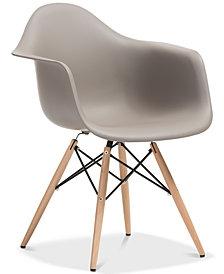 Naija Shell Chair (Set of 2), Quick Ship