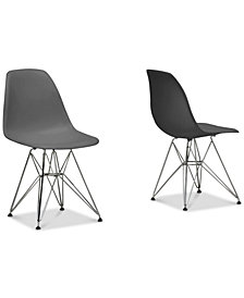Sehrish-Caden Side Chair (Set of 2), Quick Ship