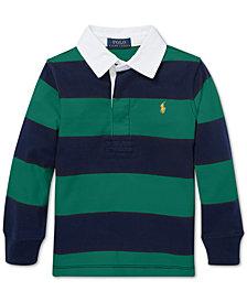 Polo Ralph Lauren Little Boys Striped Cotton Jersey Rugby Shirt