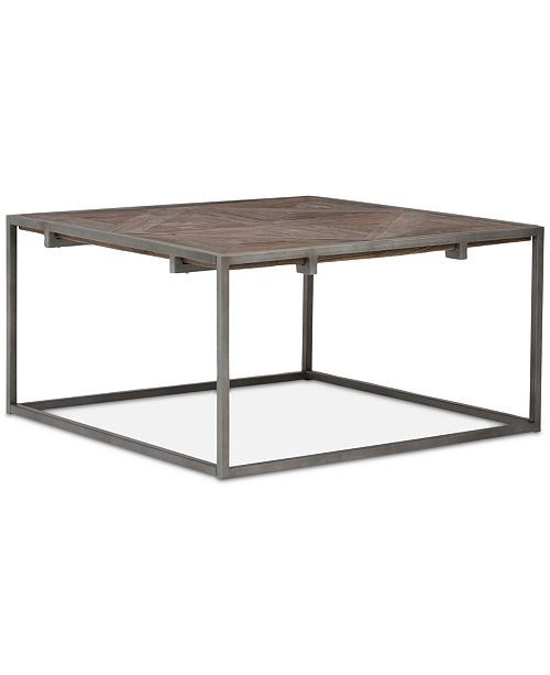 Simpli Home CLOSEOUT! Avery Square Coffee Table