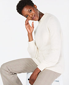 Charter Club Faux-Pearl-Embellished Pure Cashmere Sweater, In Regular & Petite Sizes, Created for Macy's