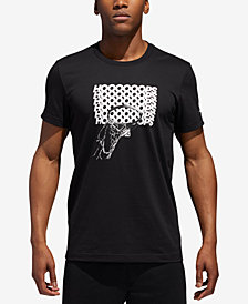 adidas Men's ClimaLite® Graphic Basketball T-Shirt