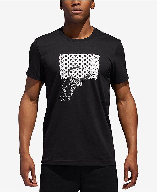 adidas Men s ClimaLite reg  Graphic Basketball T-Shirt  adidas Men s  ClimaLite reg  Graphic Basketball ... eab9451cc9948