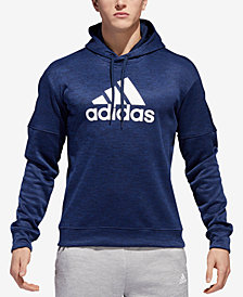adidas Men's Team Issue Fleece Logo Hoodie