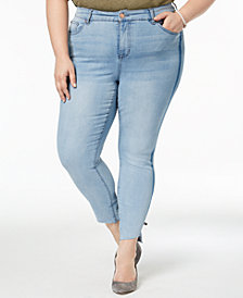 Celebrity Pink Trendy Plus Size Skinny Jeans