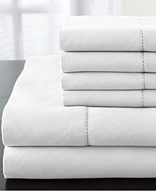 Solid Luxury 1200-Thread Count 6-Pc. Light Blue California King Sheet Set