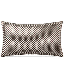 "Hotel Collection Como 14"" x 24"" Decorative Pillow, Created for Macy's"