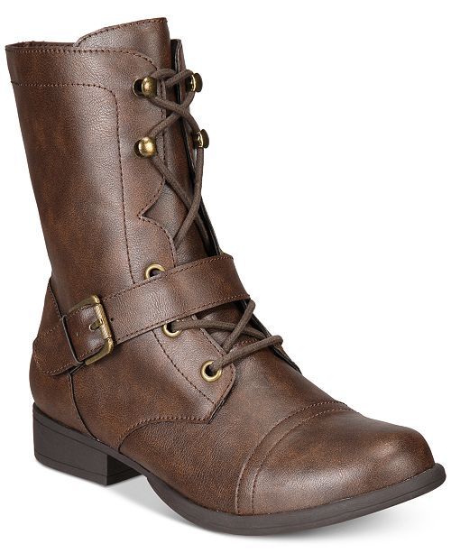 69dc1cd0f3e ... American Rag Farahh Combat Booties
