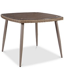Jayce Outdoor Dining Table, Quick Ship