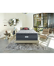 "Beautyrest Platinum Preferred Cedar Ridge 16"" Plush Pillow Top Mattress Set - Queen Split"