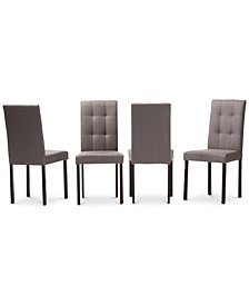 Aurra Dining Chair (Set of 4), Quick Ship