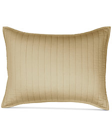 Donna Karan Casual Luxe Cotton Quilted Standard Sham