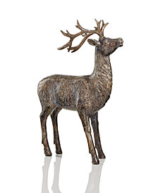 Holiday Lane Resin Reindeer Decor, Created for Macy's