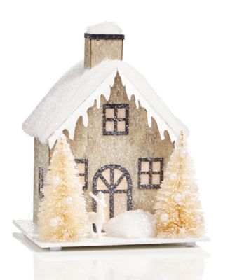 Snow Roof Paper House, Created for Macy's