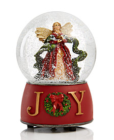 Holiday Lane Angel Musical Water Globe, Created for Macy's