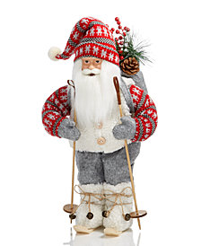 Holiday Lane Skiing Santa, Created for Macy's