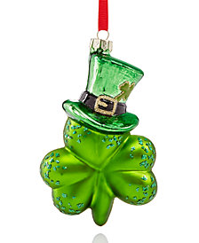 Holiday Lane Clover Ornament, Created for Macy's
