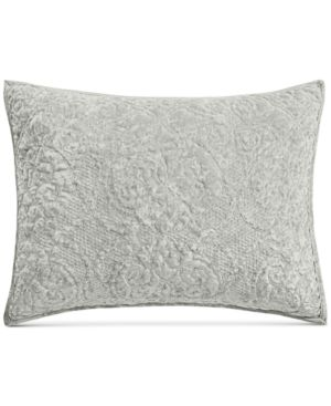 Martha Stewart Collection Velvet Flourish Quilted King Sham, Created for Macy's 6581723